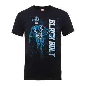 T-Shirt Homme - Éclair Noir - Marvel Comics - Noir