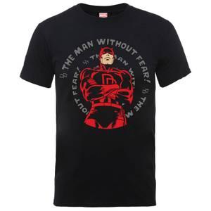 Marvel Comics Dardevil Spiral Männer T-Shirt - Schwarz