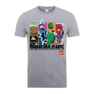 T-Shirt Homme Inhumans - Marvel Comics - Gris