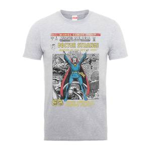 Marvel Doctor Strange Premire Comic Cover Men's Grey T-Shirt