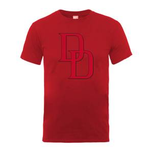 Marvel Comics Daredevil Logo Heren T-shirt - Rood