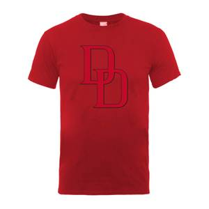 T-Shirt Homme Logo Daredevil - Marvel Comics - Red