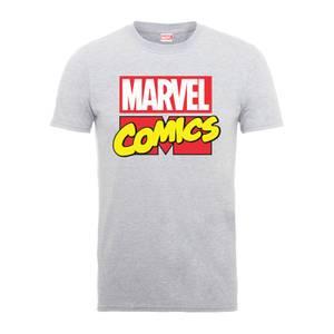 T-Shirt Homme Logo Principal - Marvel Comics - Gris