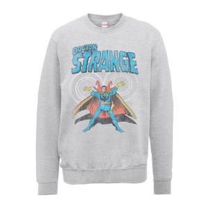 Marvel Doctor Strange Energy Men's Grey Sweatshirt