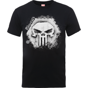 T-Shirt Homme Skull Badge - The Punisher Marvel - Noir
