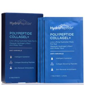 HydroPeptide PolyPeptide Collagel+ Eye Masks (8 Sachets)