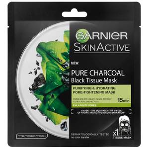 Garnier Black Algae Tissue Mask