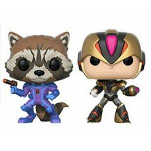 Capcom vs Marvel Rocket vs Megaman EXC Pop! Vinyl 2er-Pack
