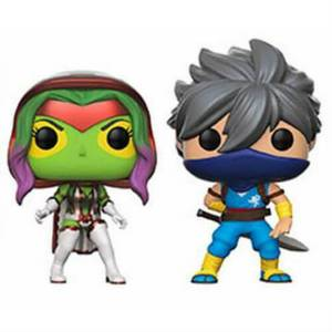 Capcom vs Marvel Gamora vs Strider EXC 2-Pack Figura Pop! Vinyls