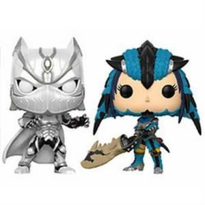 Figurines Pop! Black Panther vs Monster Hunter - Capcom vs Marvel
