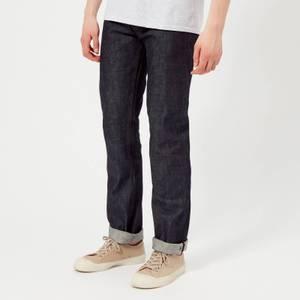A.P.C. Men's New Standard Mid Rise Straight Leg Jeans - Indigo