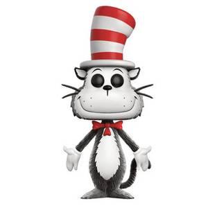 Dr Seuss Flocked Cat in the Hat EXC Pop! Vinyl Figure