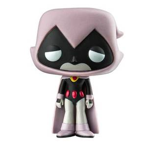 Teen Titans Go Grey Raven EXC Pop! Vinyl Figur