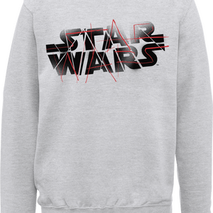 Felpa Star Wars The Last Jedi Spray Grey