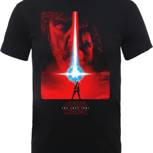 Star Wars The Last Jedi The Force Black T-Shirt