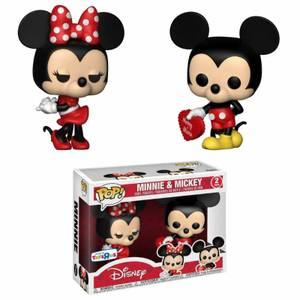 Pack 2 Figuras Pop! Vinyl Exclusivas Mickey & Minnie - Disney