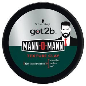 Schwarzkopf got2b Mann-O-Mann Texture Clay