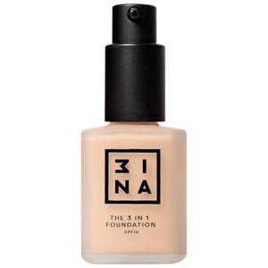 3INA Makeup 3-In-1 Foundation 30ml (Various Shades)
