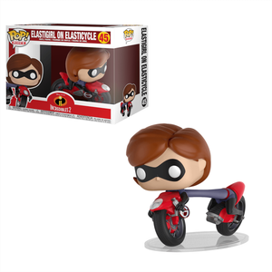 Disney Gli Incredibili 2 - Elastigirl sull'Elasticycle Pop! Vinyl Ride