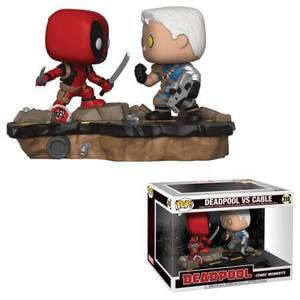Deadpool Comic Moments Deadpool vs Cable Pop! Vinyl Figure 2-Pack