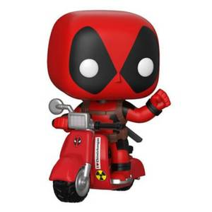 Marvel Deadpool & Scooter Pop! Vinyl