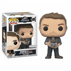 Jurassic World 2 - Owen Figura Pop! Vinyl Esclusiva