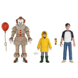 ES Action Figuren 3-Pack Set: Pennywise, Georgie & Bill