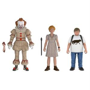 ES Action Figuren 3-Pack Set: Pennywise, Beverly & Ben