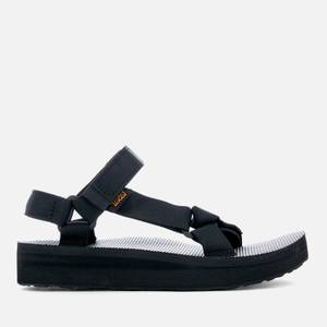 Teva Women's Midform Universal Sandals - Black