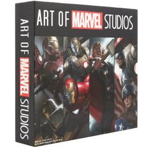 Art of Marvel Studios - Pack de 4 Libros con Estuche Deluxe (Iron Man, Iron Man 2, Thor, Capitán América)
