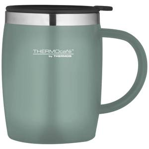 Thermos ThermoCafe Soft Touch Desk Mug - Duck Egg - 450ml