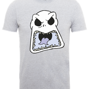 The Nightmare Before Christmas Jack Skellington Angry Face Grau T-Shirt