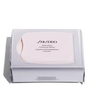 Освежающие очищающие салфетки Shiseido Refreshing Cleansing Sheets