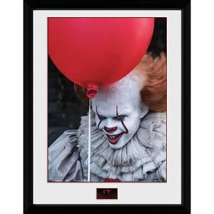 IT Balloon Framed Photograph 12 x 16 Inch