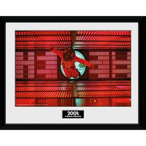 2001: A Space Odyssey Astronaut Red Framed Photograph 12 x 16 Inch