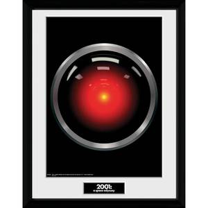 2001: A Space Odyssey Hal 9000 Framed Photograph 12 x 16 Inch