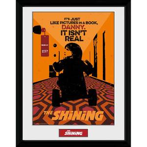 The Shining Danny 12 x 16 Inches Framed Photograph