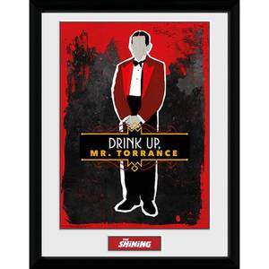 The Shining Drink Up Mr. Torrance Framed Photograph 12 x 16 Inch