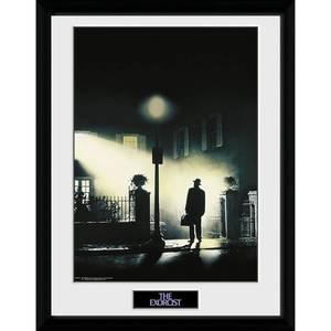 The Exorcist Key Art Framed Photograph 12 x 16 Inch