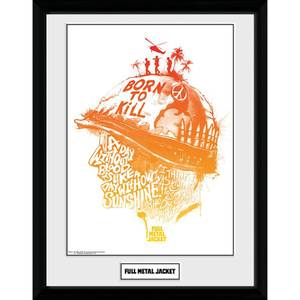 Full Metal Jacket A Day Without Blood Framed Photograph 12 x 16 Inch