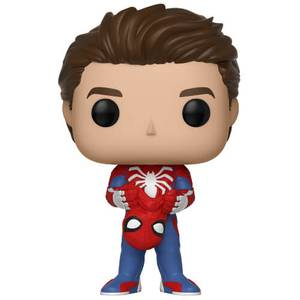 Marvel Spider-Man Gamerverse Unmasked Spider-man Figura Pop! Vinyl
