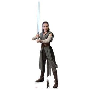 Silhouette Découpée en Carton - Rey - Star Wars : Les Derniers Jedi