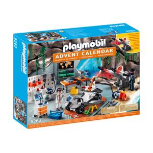 Playmobil Advent Calendar 'Top Agents' with LED Super Weapon (9263)