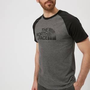 The North Face Men's Raglan Easy Short Sleeve T-Shirt - TNF Medium Grey Heather