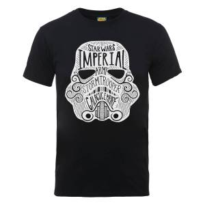 Star Wars Imperial Army Storm Trooper Galactic Empire T-Shirt - Black