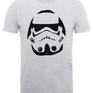 Star Wars Paint Spray Stormtrooper T-Shirt - Grey