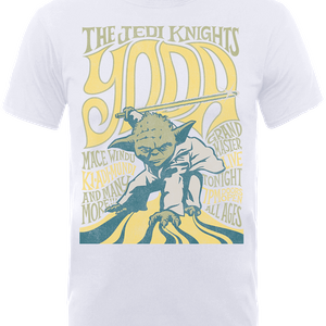 Star Wars Yoda The Jedi Knights T-Shirt - White