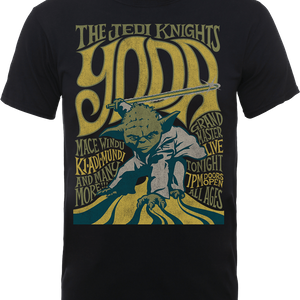 Star Wars Yoda The Jedi Knights T-shirt - Zwart