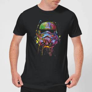 Star Wars Paint Splat Stormtrooper T-Shirt - Black