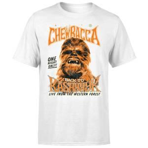Star Wars Chewbacca One Night Only T-Shirt - Weiß